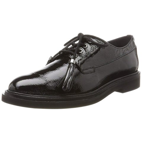Kenneth Cole New York Womens Annie Leather Closed Toe Oxfords