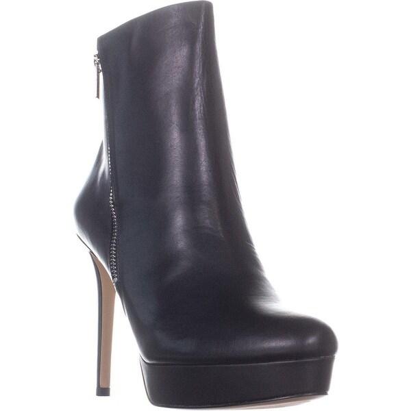 bfcd12d9d3b Shop DKNY Jami Platform Ankle Boots, Black - Free Shipping Today ...