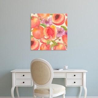 Easy Art Prints Leslie Mark's 'Peach Medley II' Premium Canvas Art