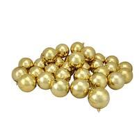 "32ct Vegas Gold Shatterproof Shiny Christmas Ball Ornaments 3.25"" (80mm)"