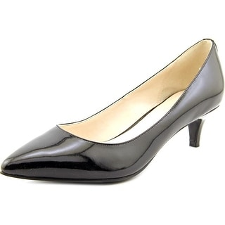 Cole Haan Prieta Low Pump II Pointed Toe Patent Leather Heels