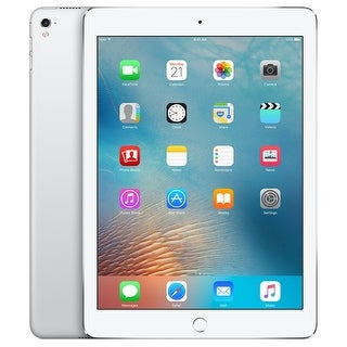 "Apple iPad Pro (128GB, Wi-Fi, Silver) 9.7"" Tablet (Certified Refurbished)"