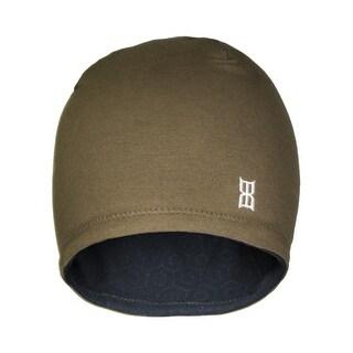 Bex Hat Adult Hexed Beanie Embroidered Logo Fleece 4 Seam B0004