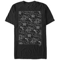 Twin Peaks Owl Cave Map Men's Graphic T Shirt