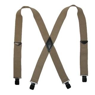 Realtree Men's Elastic Solid Color Clip-End Suspenders - One Size