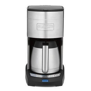 Cuisinart DCC-3750FR Elite 10-Cup Thermal Coffeemaker, Stainless Steel, Certified Refurbished