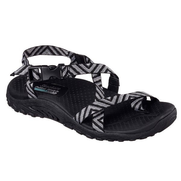 Skechers Women's REGGAE-HAYSTACK Sandals