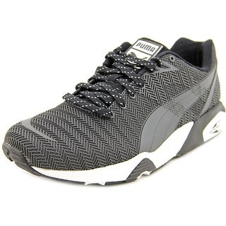 Puma R698 Bonded TPU Kurim Round Toe Synthetic Sneakers