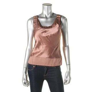Catherine Malandrino Womens Silk Sleeveless Casual Top - S