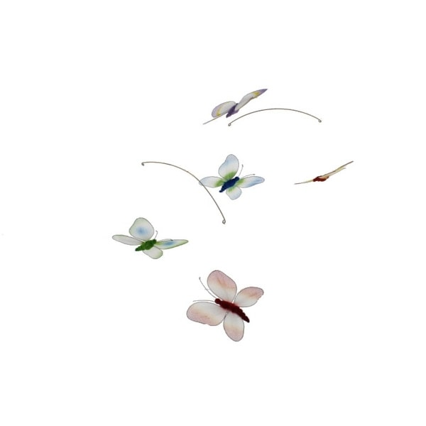 Season's Direct Decorative Mobile Mesh Butterfly
