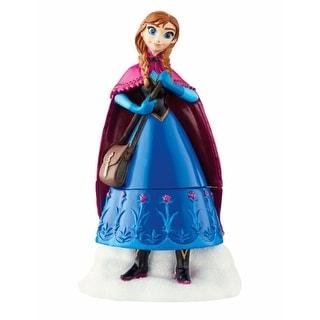 """Department 56 Decorative Disney Frozen """"Anna"""" Figurine Trinket Box #4045049"""