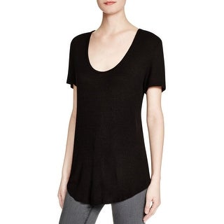 Ellie Womens Casual Top Knit Stretch