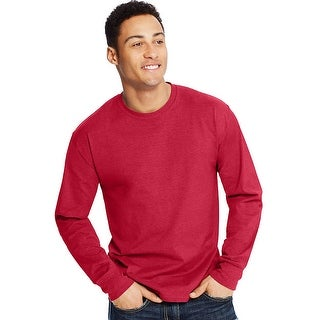 Hanes X-Temp Men's Long-Sleeve T-Shirt