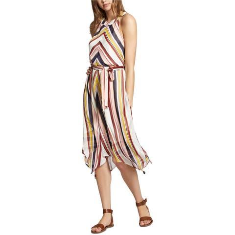 Sanctuary Clothing Womens Striped Midi Dress, Multicoloured, Small