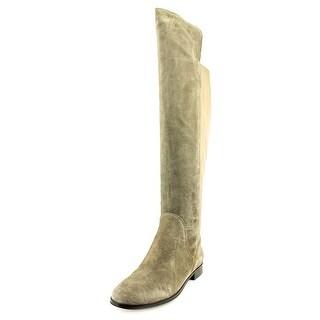 Corso Como Larissa Women Round Toe Suede Over the Knee Boot