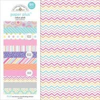"Pastel - Doodlebug Paper Plus Value Pack 12""X12"" 8/Pkg"