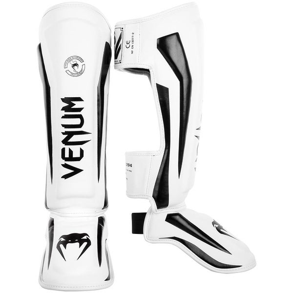 Venum Elite Standup Shinguards Neo Pink