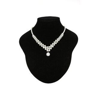 Cinderella Couture Elegant Pendant Pearl Necklace
