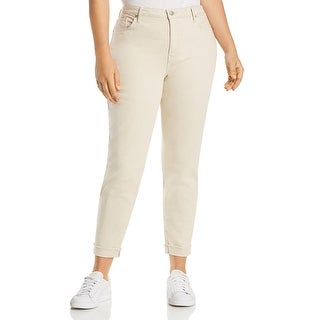 Link to NYDJ Womens Plus Ami Skinny Jeans High Rise Denim - Feather Similar Items in Women's Plus-Size Clothing