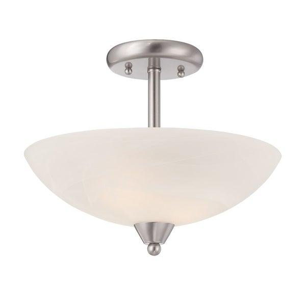 Designers Fountain 15005-SF Torino 1-Light Semi Flush Ceiling Fixtures - N/A
