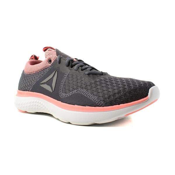 cf1e73025c96 Shop Reebok Womens Astroride Run Fire Mtm Gray Running Shoes Size 11 ...