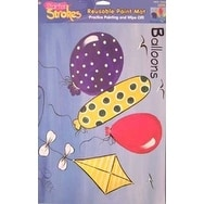 Balloon Reusable Paint Mat by Starter Strokes for Kids