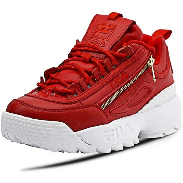 Disruptor Ii Zipper Shoes Red