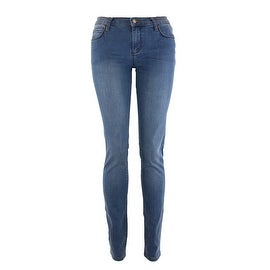 Monkee Genes Classic Organic Skinny Jeans in Bamboo Wash