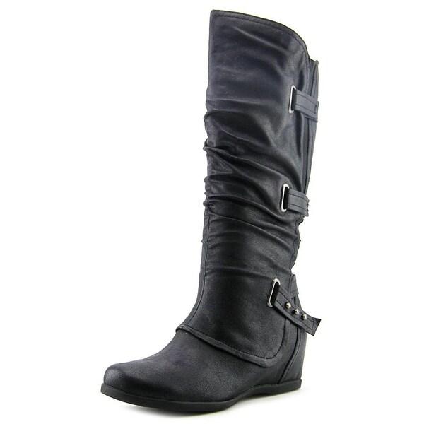 Baretraps Quibella Women Round Toe Synthetic Knee High Boot