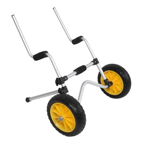 Kayak Cart Carrier Trolley, with No-Flat Airless Tires Wheels Transport - N/A