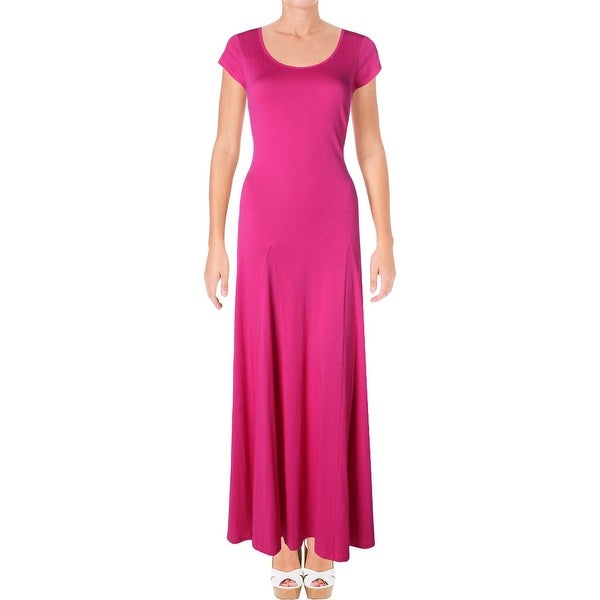 73ca880cb60 Shop Lauren Ralph Lauren Womens Maxi Dress Jersey Scoop Neck - Free ...