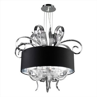 Valeriano Chandeliers 4 Light Incandescent 60W in Polished Chrome