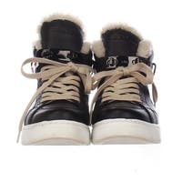 Coach Womens Richmond Shrl Leather Hight Top Lace Up Fashion Sneakers - 6.5
