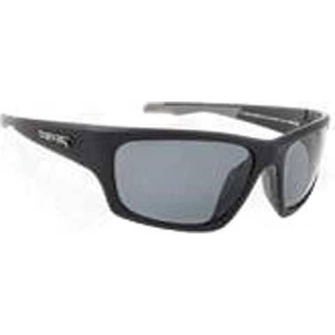 9c1fa2f84b1d2 Peppers Headwall Sunglasses Matte Black Over Silver Fire Red Mirror - US  One Size (