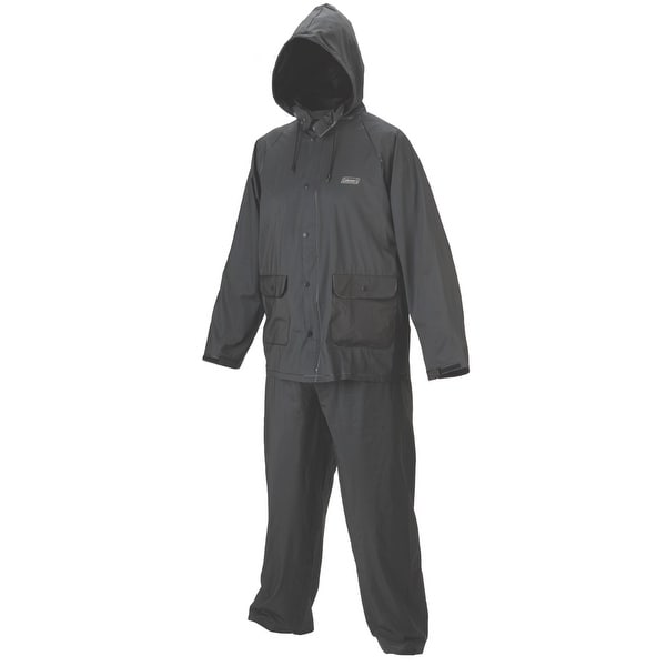 Coleman 20mm PVC Rain Suit Navy Extra Large 2000014984