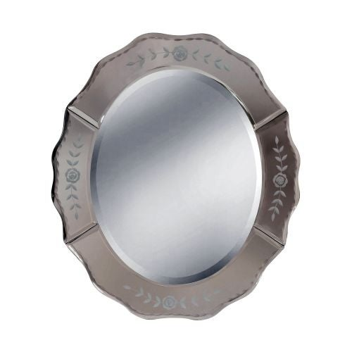 """Mirror Masters MG3441 Lemont 12"""" Oval Mirror with Decorative Frame"""