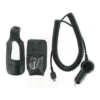 OEM Alltel Car Charger & Leather Case for Samsung R430 MyShot