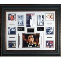 Scarface unsigned 27x39 Photo Engraved Signature Series Leather Framed w Al Pacino entertainment