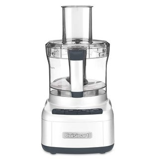 Cuisinart FP-8FR Elemental 8-Cup Food Processor, White, Certified Refurbished