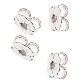 Sterling Silver Earring Backs (Earnuts) Heavy 5.5mm (12)