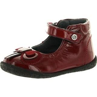 Naturino Girls 2106 Dress Mary Jane Flats Shoes - Red