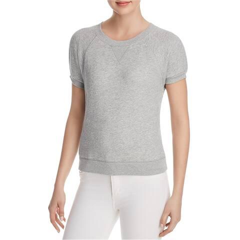 Joie Womens SS Christal Sweatshirt, Grey, X-Small