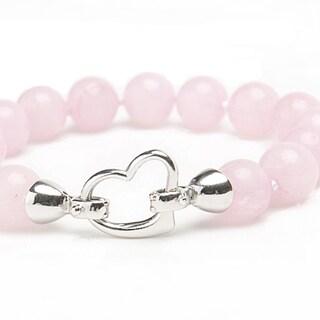 Viva Pink Jade Bracelet
