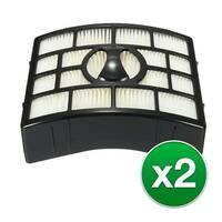 Replacement For Shark Rotator Pro Lift-Away HEPA Vaccum Filter - 2 Pack