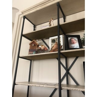 Barnstone Cornice Double Shelving Bookcase by iNSPIRE Q Artisan