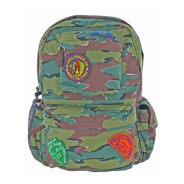 b2f49c84a0d8 Shop Polo Ralph Lauren Boys Kid s Backpack Kids Camo - Free Shipping ...