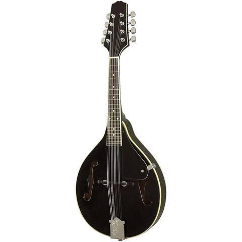 A Style Elegant Mandolin with Guard Board Black