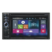 "Power Acoustik 6.2"" D.Din AM/FM/CD/DVD/USB/BT"