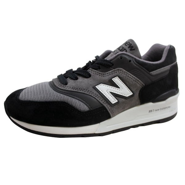 New Balance Men's 997 Grey/Black Made In USA M997CUR