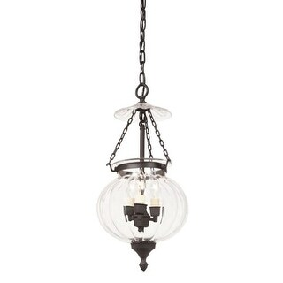 JVI Designs 1003 Melon 3 Light Mini Pendant